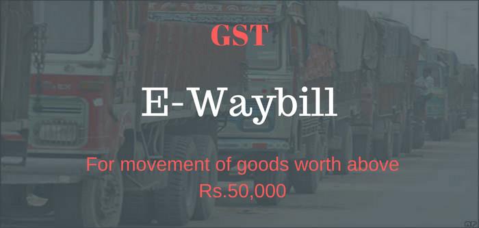 E-WayBill Filing