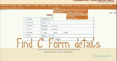 c form