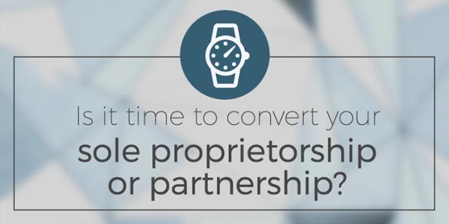 Convert a Proprietorship to a Partnership