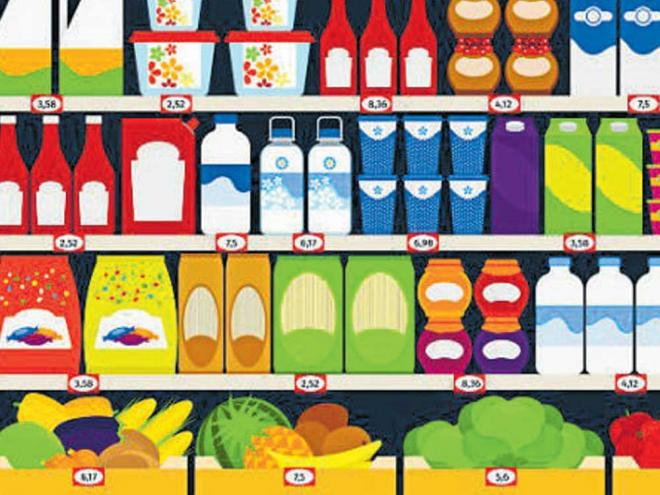 pre-GST stock with revised MRP stickers