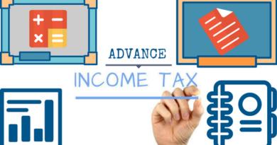Advance tax payment