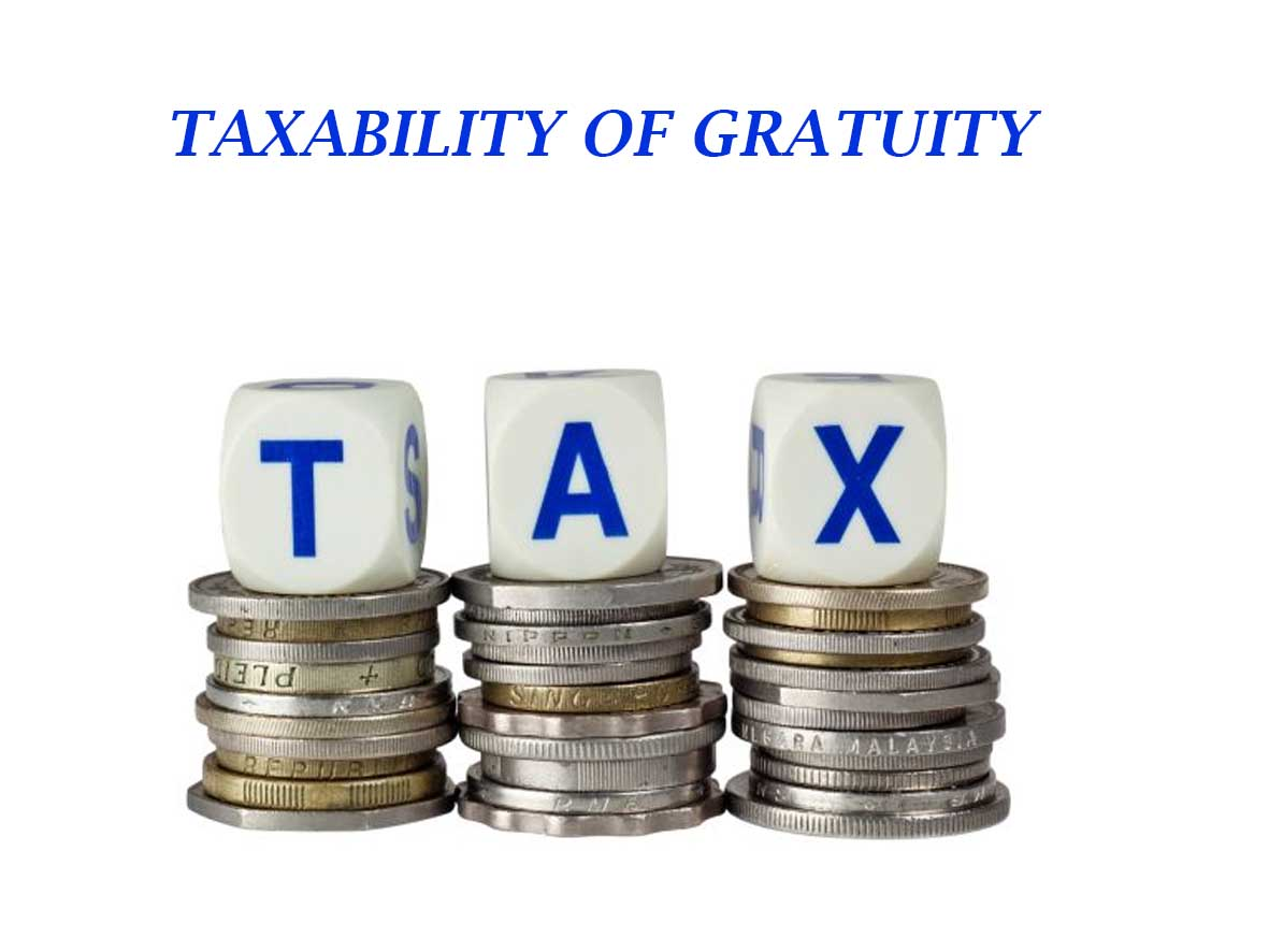 Gratuity and GST