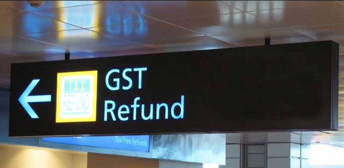 GST refund to foreign tourists