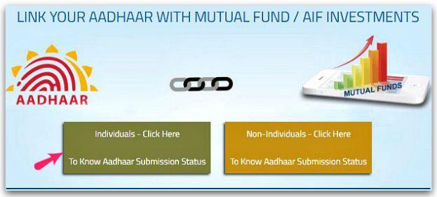 Mutual Funds Aadhaar Link