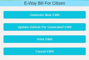 Generate New EWB