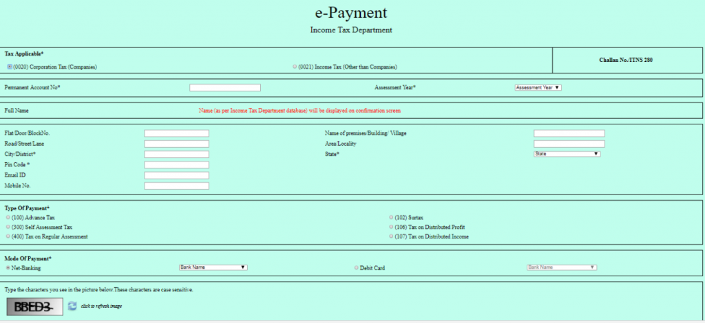 Challan 280 | Online Payment of Income Tax | Certicom