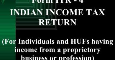 ITR-4 form