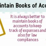 Maintenance Books of Accounts Under Income Tax , GST & Companies Act