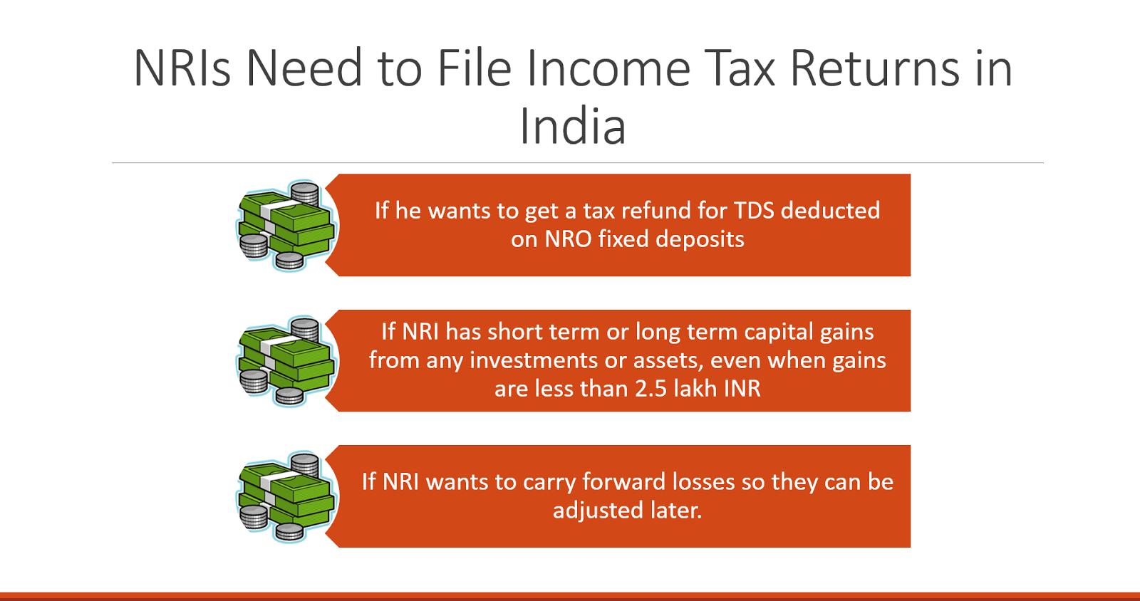 NRI Income tax returns