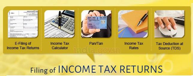 E-filing income tax returns
