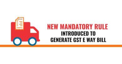 GST E-Way Bills