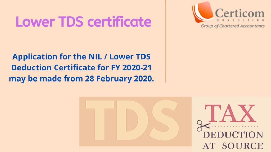 lower tds