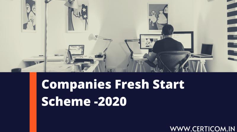 Companies Fresh Start